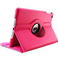Кожаный чехол-книжка TTX (360 градусов) для Apple iPad 2 / 3 /4 (Розовый)