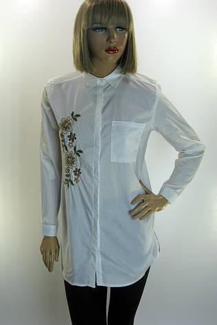 e1e9daa7aea2e7 Жіноча сорочка з вишивкою і бісером Saloon:(Туреччина) купити в ...