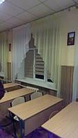 Ролеты из ткани день-ночь на окна в школу монтаж Буча
