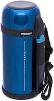 Термос Zojirushi SF-CC15AH 1,5л синий (складн.ручка+ремешок)