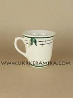 Чашка керамика Славянск Колокольчик Лист - художественная роспись