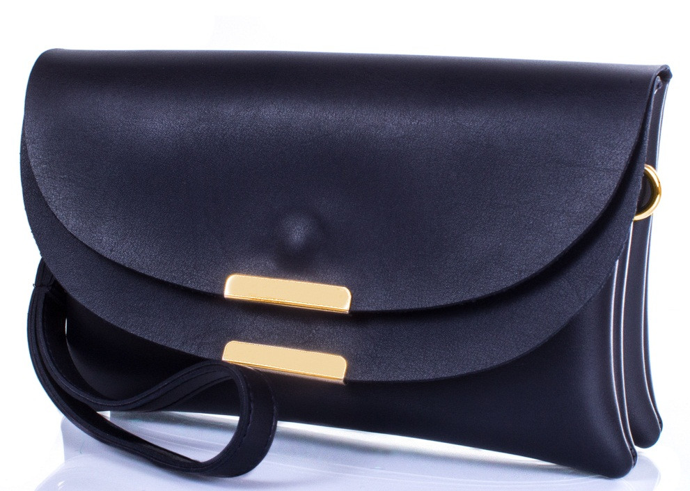 Стильная женская сумка-клатч ETERNO ETK789-6, кожзаменитель, цвет синий.