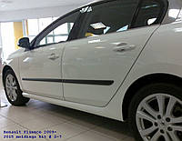 Молдинги на двери Renault Fluence 2009-2015  , фото 1