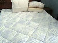 Одеяло стёганное полуторное микрофибра/бамбук.