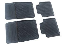 Резиновые коврики ЗАЗ 1103 Славута (ромб) комплект 4 шт. Дубно