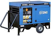 Дизельный генератор (электростанция) SDMO Diesel 10000 E Silence, 11,2 кВA/9 кВт, дв. Kohler KD 425-2, электростартер