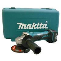 Аккумуляторная угловая шлифмашина (болгарка) Makita BGA450RFE, 14,4 В, d=115 мм, 10000 об/мин, 2 акк Li-Ion 3.0 А/ч, 2.2 кг