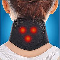 Магнитный массажер для шеи с турмалином