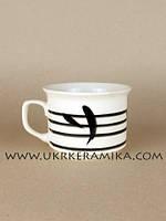 Чашка керамика Славянск Цилиндр Бамбук - художественная роспись