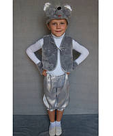 Премиум! Мышонок Карнавальный костюм на мальчика, Комплектация 4 Элемента, Размеры 3-6 лет, Украина