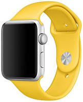Ремень Apple Sport Band for Apple Watch 38mm (Yellow)