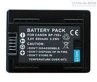 Аккумулятор для видеокамеры Canon BP-709, 895 mAh.