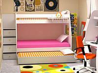 Кровать-чердак для троих детей