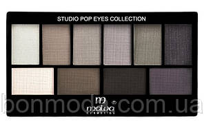 Набор теней для век Malva Cosmetics Eye Shadow Set Secret World (М-460-7) № 07