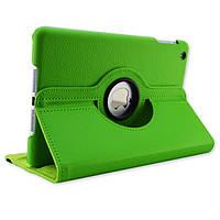 Кожаный чехол-книжка TTX (360 градусов) для Apple Ipad Air (Зеленый )