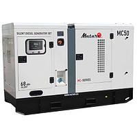 Дизельный генератор (электростанция) Matari MC50, 66 кВА/53 кВт, трехфазный, дв.Cummins 4BTA3.9-G2, автоматика
