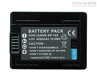 Аккумулятор для видеокамеры Canon BP-745, 4450 mAh.