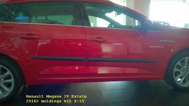 Z-15 Door moldings Renault Megane IV Estate 2016>