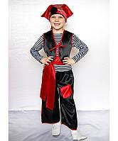 Премиум! Пират Маскарадный Костюм для мальчика, Комплектация 6 Элементов, Размеры 3-8 лет, Украина
