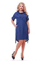 Платье женское Берта джинс, фото 1