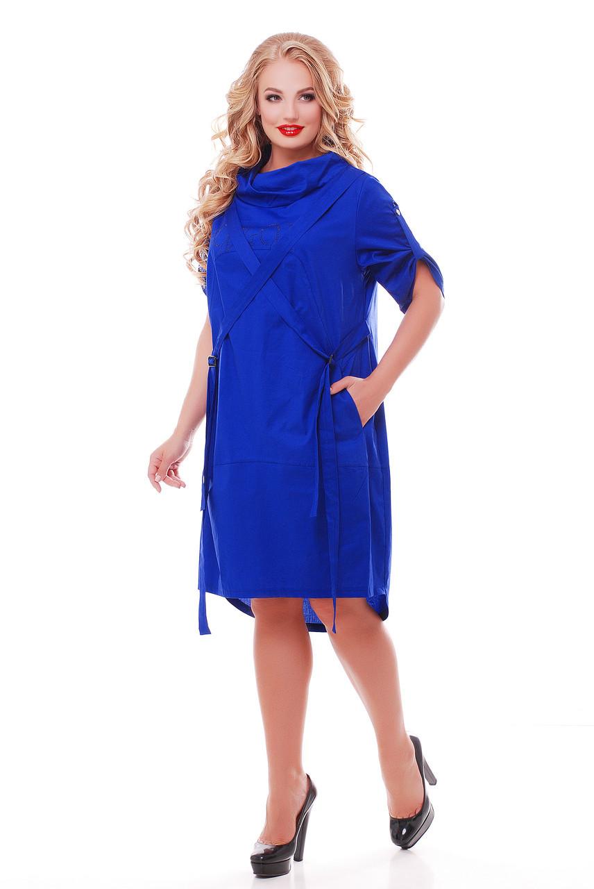 Платье женское Берта электрик