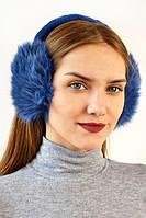 Синие наушники от производителя