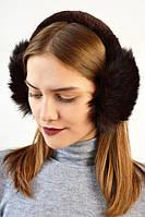 Зимние теплые модные наушники