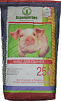 Агропрогрес Универсальный концентрат для откорма свиней 15% 10% (гроуэр/финишер)