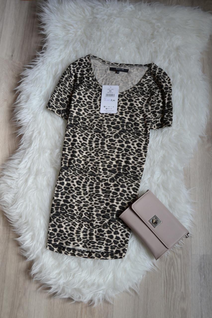 Новая футболка в леопардовый принт Reserved
