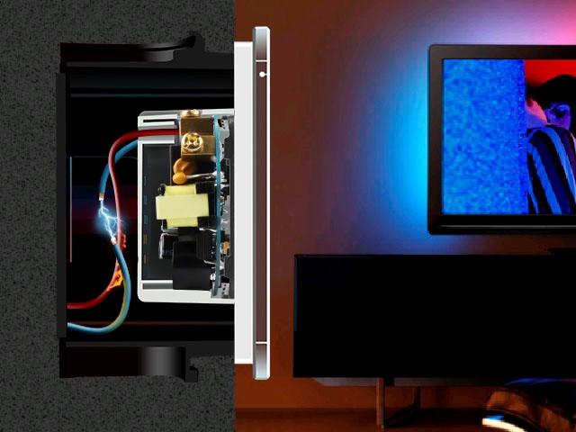 Огнестойкий материал Сенсорный выключатель Livolo на 1 линию 1 модуль Белый VL-C701-11