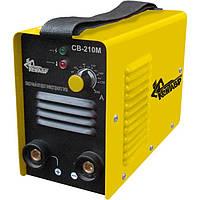 Сварочный инвертор Кентавр СВ-210М, 1 Phx230, 7,7 кВт, 20-200 А, 1,6-4 мм, 56 В, 4,6 кг