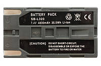 Аккумулятор для видеокамеры Samsung SB-L320, 4800 mAh.