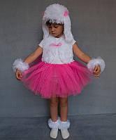 Премиум! Собачка Карнавальные Костюмы для девочек, Комплектация 4 Элемента, Размеры 3-6 лет, Украина