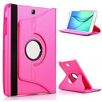 Кожаный чехол-книжка TTX (360 градусов) для Samsung Galaxy Tab 3 Lite 7.0 SM-T110 / T111 (Розовый)