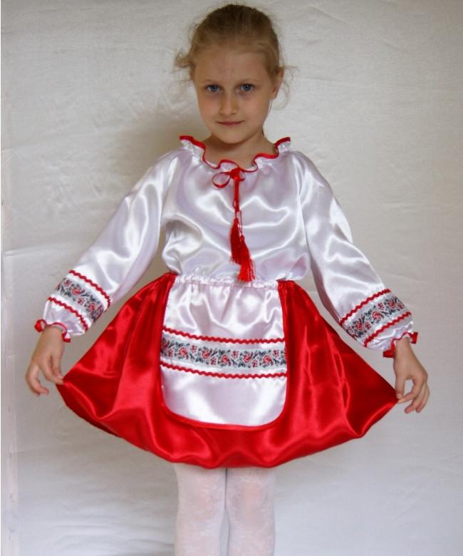 Детский карнавальный костюм Украинка № 1