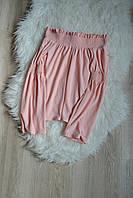Блуза с открытыми плечами и рукавами-колокол New Look