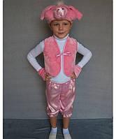 Премиум! Хрюша Маскарадный Костюм детский, Комплектация 4 Элемента, Размеры 3-6 лет, Украина