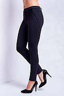Стильные женские брюки черного цвета