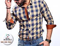 Стильная рубашка с длинным рукавом (Турция), в ассортименте