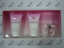 Versace Bright Crystal парфюмированный набор