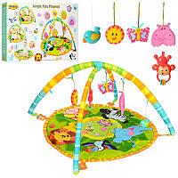 Развивающий коврик для младенца «Джунгли» 0827-NI WinFun