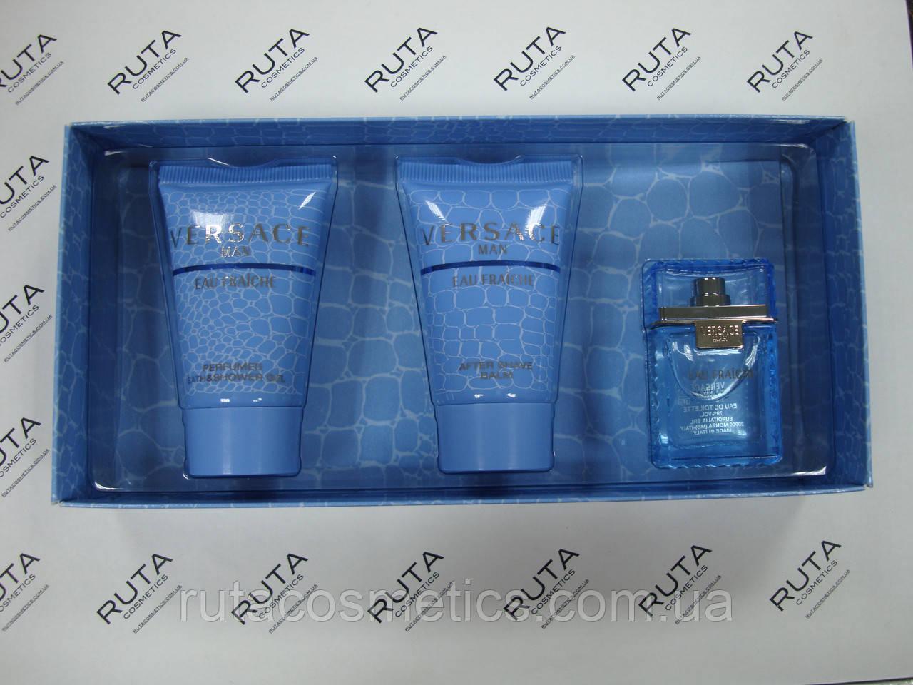 Versace Man Eau Fraiche парфюмированный набор