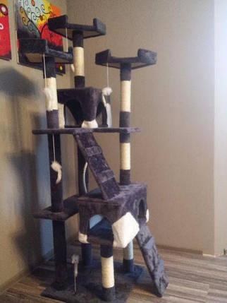 Когтеточка, домик для кота 170 см, фото 2