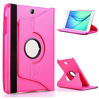 Кожаный чехол-книжка TTX (360 градусов) для Samsung Galaxy Tab 4 10.1 SM-T530 (Розовый)