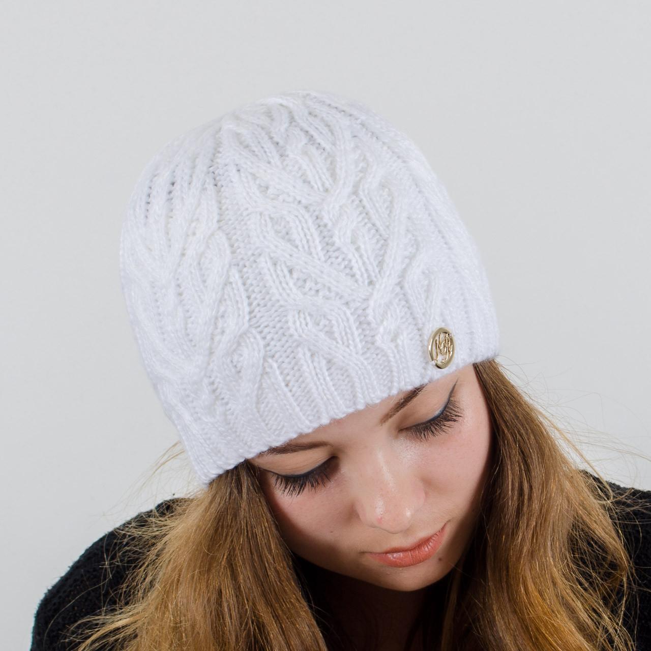 вязаные женские шапки оптом со склада интернет магазин Nord