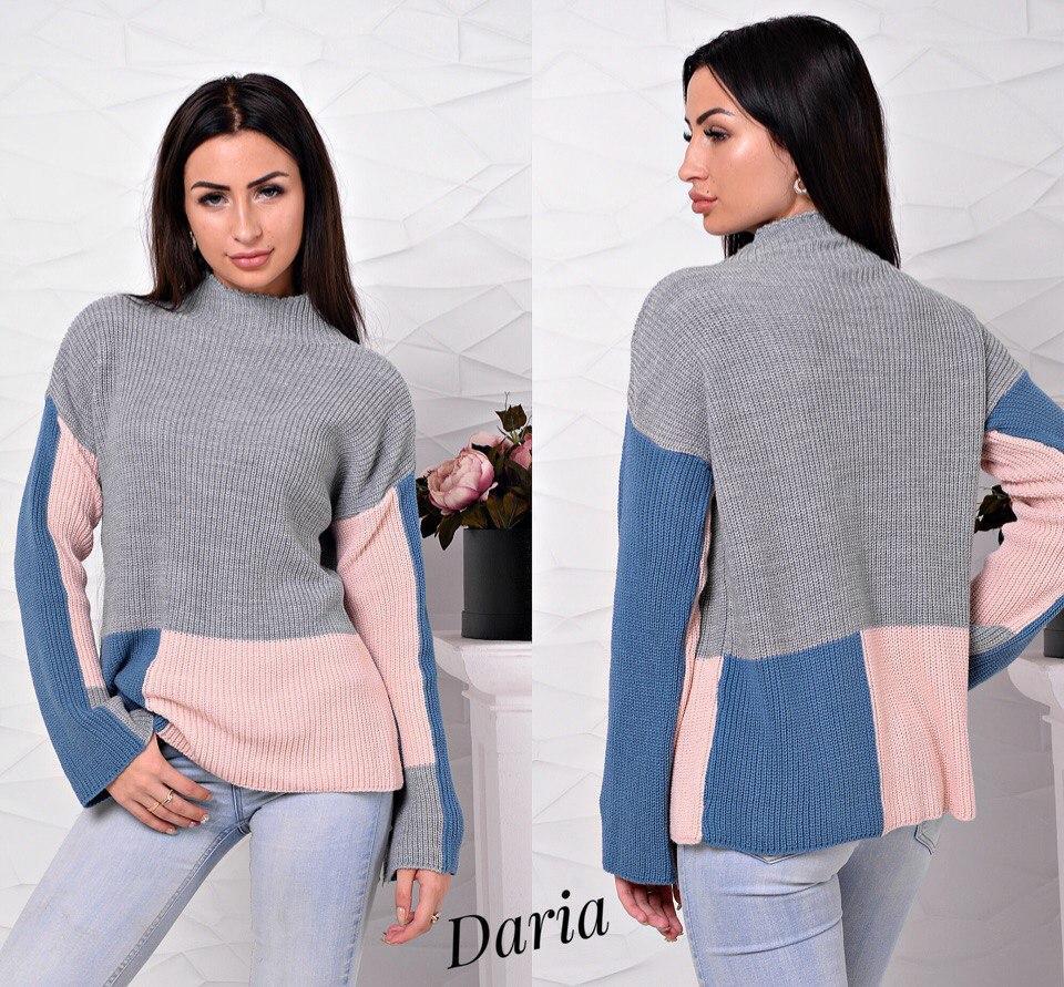женский вязаный свитер квадрат женские вязаные свитера оптом цена