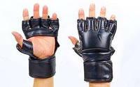 Перчатки для смешанных единоборств MMA Flex Venum Challenger VL-5789-BK черные
