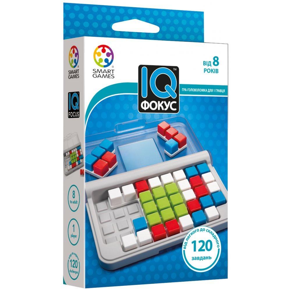 IQ Фокус TM Smart games Настольная игра-головоломка (SG 422)