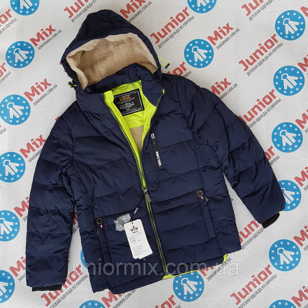 Зимняя подростковая куртка для мальчиков оптом HIKIS