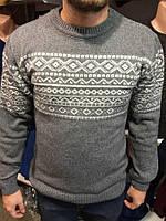 Мужской молодежный свитер КЦ042
